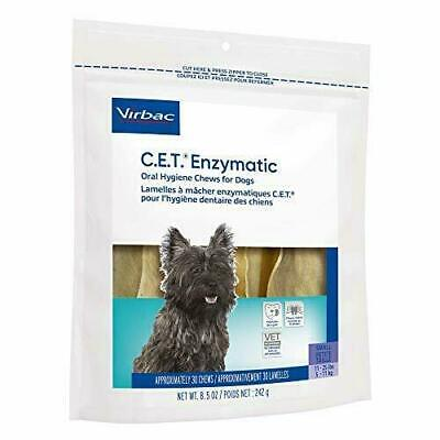 CET Enzymatic Chews For Dogs, SMALL 11-25 lbs, 30 Chews