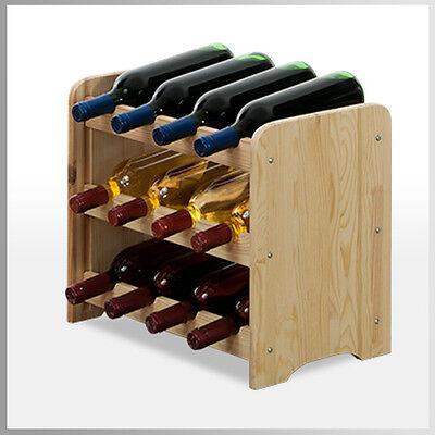 Rw-3 Farbe (Weinregal  Weinschrank Flaschenregal  für 12 Flaschen RW-3-12  3 FARBEN* //)