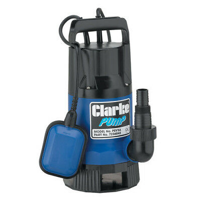 Latest CLARKE SUBMERSIBLE WATER PUMP FLOAT SWITCH 230V 133 LITRES PER MIN