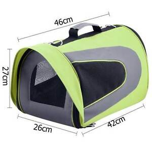 FREE SHIPPING - Pet Dog Cat Carrier Travel Bag Large Lime Green Melbourne CBD Melbourne City Preview