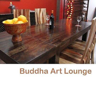 Esstisch Erweiterbar Massiv Holz 160x90 /240x90 Bali Küchentisch Tisch Walnuss