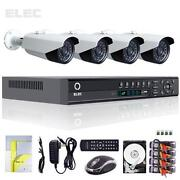 4 Security Cameras Kit