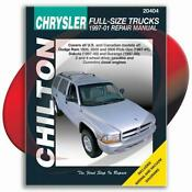 Chilton Repair Manual Dodge