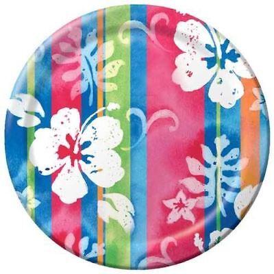 Hibiscus Tropical Paper Plates 7