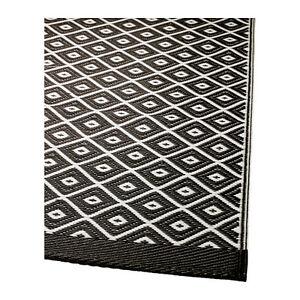 Ikea Rug Flatwoven Solrod Black N White New Ebay