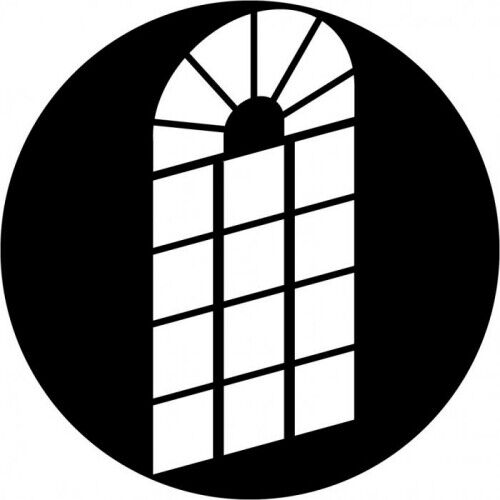 Window Gobo Spot Shadow Image Apollo 6010 JR Window French Oblique DJ Theater