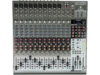 BEHRINGER XENYX 2442FX MIXING DESK FOR LIVE & RECORDING IN IMMACULATE CONDITION