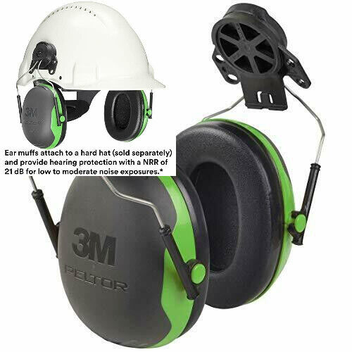 3M Personal Protective Equipment PELTOR Ear Muffs, Noise Pro