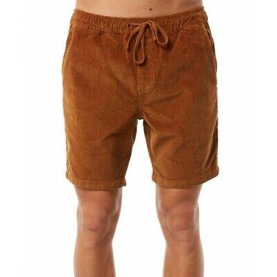 BNWT Katin Kord Shorts Medium Light Walnut Corduroy Surf Walk Shorts