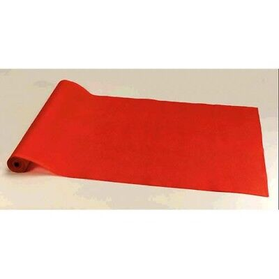 HOLLYWOOD RED CARPET FABRIC FLOOR RUNNER ~ Birthday Wedding Party Supplies - Hollywood Supplies
