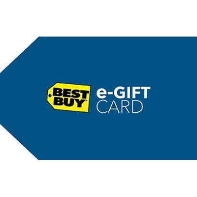 Buy a $150 Best Buy Gift Code & get a $15 Bonus Code ($165 Value) - Emailed