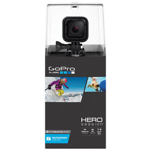 GoPro HERO Session Waterproof HD Sports & Helmet Camera $210obo
