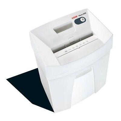 Hsm2320 Pure 220 Strip-cut Shredder Shreds Up To 15 Sheets 5.3-gallon Capacity