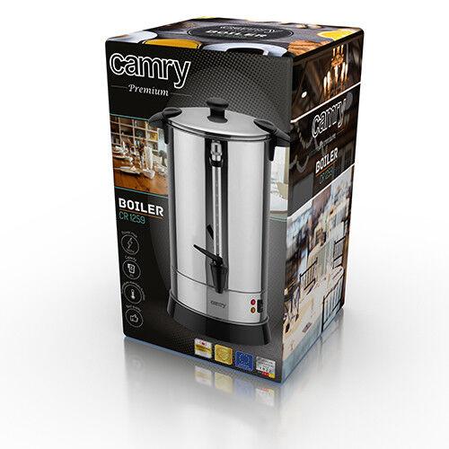 Glühweinkocher 20 Liter Heisswasserspender für Tee warmhaltefunktion Ausgiesser