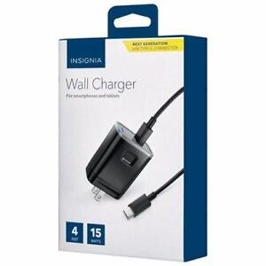 NEW Insignia USB-C Wall Charger NS-MAC1C3-C