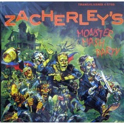 🔥 Zacherle- Monster Mash Party CD Cool Ghoul Halloween (Transylvania) OOP 🔥](Zacherle Halloween)