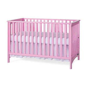 Pink Crib For Sale.