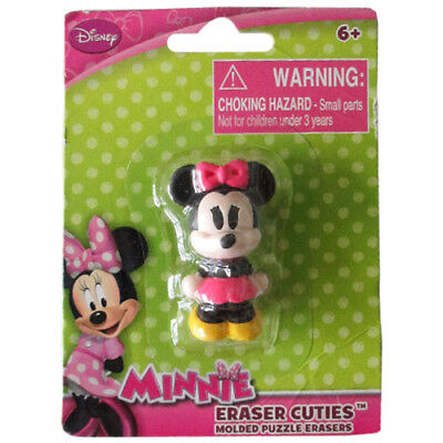 MINNIE MOUSE MINI PUZZLE ERASER ~ Birthday Party Supplies Favor Toy Stationery (Mini Mouse Birthday)