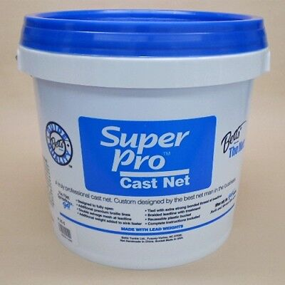 Betts Super Pro 6' Cast Net 3/16
