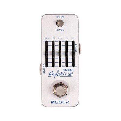 Mooer MEQ2 Micro Graphic B Bass EQ Pedal