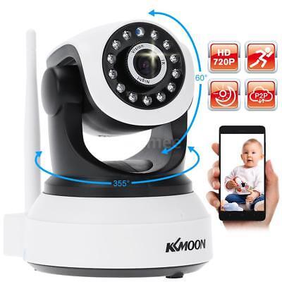 KKMOON Wireless WIFI HD 720P IP Camera Indoor Security IR