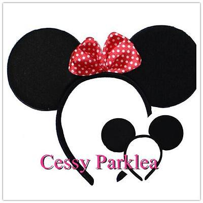 Adult Minnie Mickey Mouse Couples Ears Headband Disney Costume  Accessories (Mickey Mouse Costume Accessories)