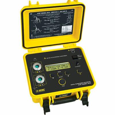 Aemc 8510 2136.50 Dtr Univ Supply Digital Transformer Ratiometer