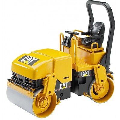 Bruder Cat  Tandem-Vibrationswalze Baufahrzeuge 2433 gelb, Baustellenfahrzeug