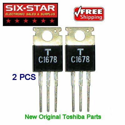 Cb Ham Radio New Original Repair Parts - 2sc1678 Toshiba Ecg-236 - 2 Pcs
