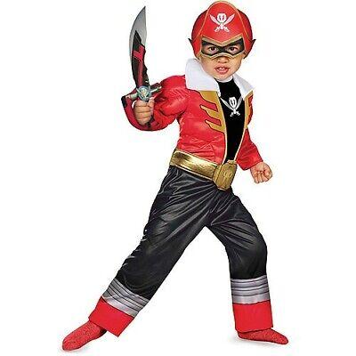 Power Rangers Super Megaforce - Red Ranger Toddler Muscle Costume](Power Rangers Megaforce Red Ranger Costume)