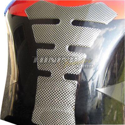 1x 3D Carbon Look Tank Pad Tankpad Tankschutz Schutz Tank für Motorrad V2
