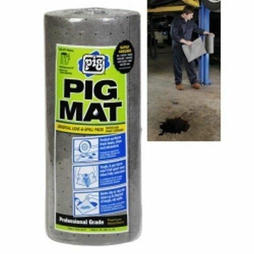 New Pig NPG57701 Universal Mat plus 25201 Dispenser (3 Rolls and 1 Dispenser)