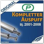 Polo 9N Auspuff