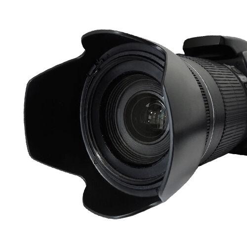 52mm Hard Tulip Shaped Lens Hood For Nikon 18-55mm AF-S, 55-200mm, 50mm f/1.8D