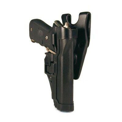 Blackhawk 44h000bk-r Black Serpa Level 2 Right Hand Holster Fits Glock 1719