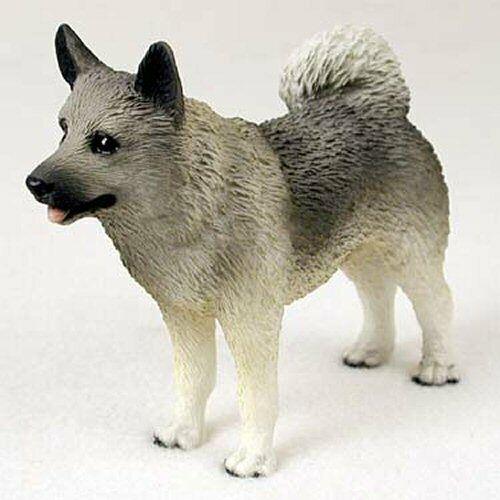 Norweigan Elkhound Dog Figurine, Standard Size