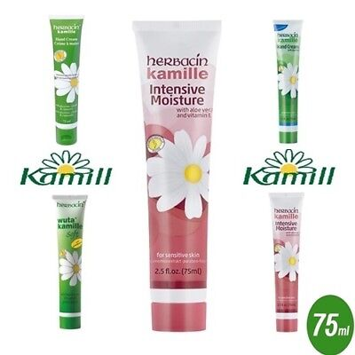 Herbacin Kamille Chamomile Moisturizing Hand Cream 75 ml with Glycerine (Select)