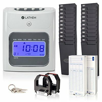 Lathem Time 400E-KIT Timeclock,automatic (400ekit)
