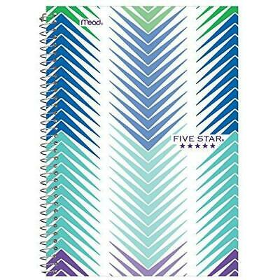 Five Star Spiral Notebook 2 Subject College Ruled Paper 100 Sheets 9-12 X