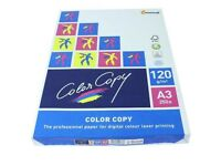 Color Copy A3 Paper / White / 120gsm / 250 Sheets per ream