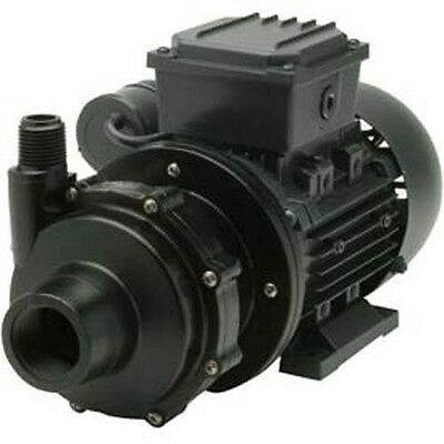 Commercial Chemical Pump - Pvdf - 14 Hp - 115v - 1ph - 18 Gpm - Magnetic Drive