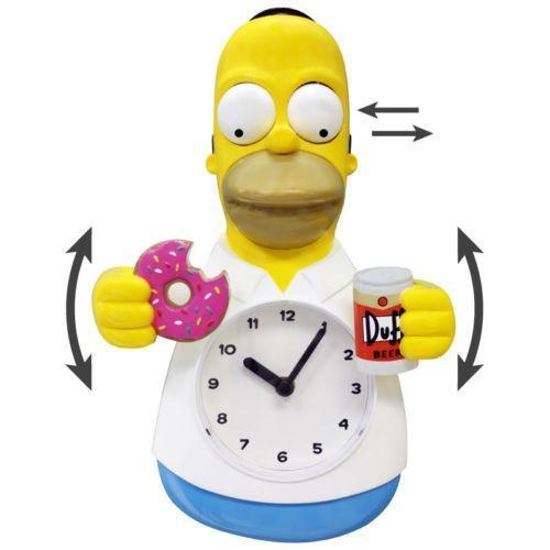 Homer Simpson Clock Ebay