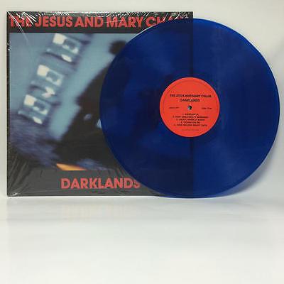The Jesus And Mary Chain - Darklands LP REISSUE SEALED NEW / BLUE VINYL