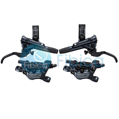 New 2021 Shimano SLX BR M7120 4-Piston Hydraulic Disc Brake set 1700mm 1000mm