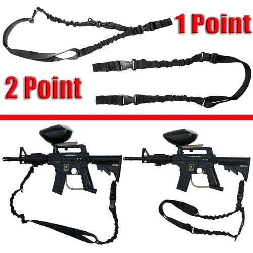 tippmann tmc sling black woodsball black tactical Trinity paintball accessories