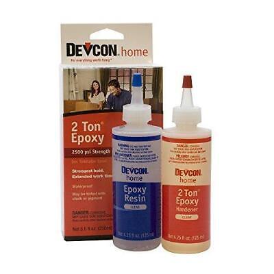Devcon Epoxy 2 Ton Epoxy 4.25 Ounce Each 2 Bottles