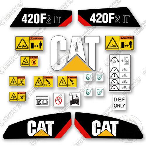 Caterpillar 420 F2 IT Backhoe Decal Kit Equipment Decals