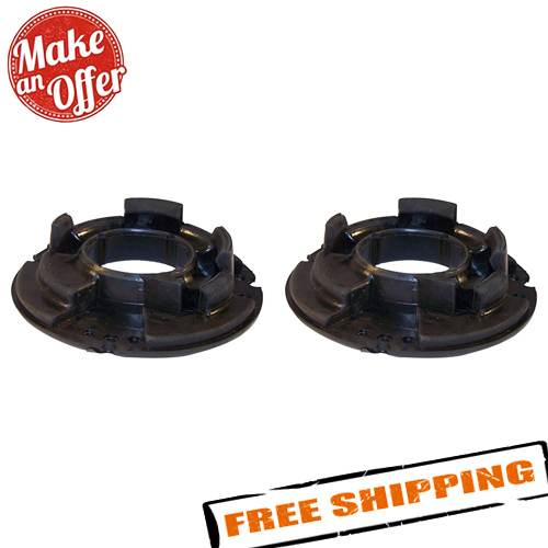 Coil Spring Isolator Pair Rear Lower Rubber fits the following Jeep Grand Cherokee WJ 1999-2004