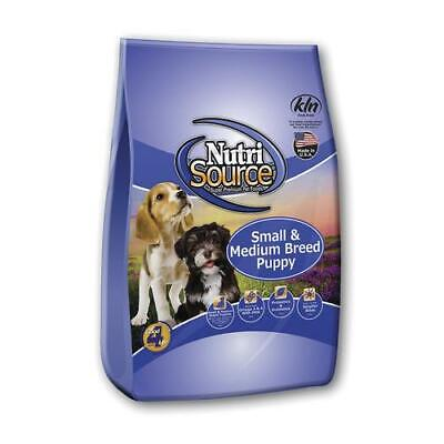 NutriSource Small and Medium Breed Puppy Chicken and Rice 15 lb dog -