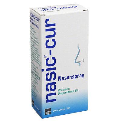 NASIC Cur Nasenspray 20 ml PZN: 3931561 (21,40€/100 ml)